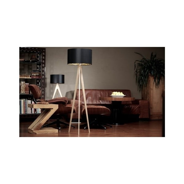 Stolní lampa Arist Dark Grey/Dark Brown