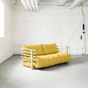 Canapea extensibilă Karup Funk Natural/Amarillo
