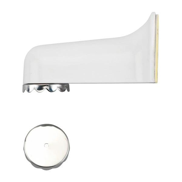 Biały magnetyczny uchwyt na mydło w kostce Wenko Blister