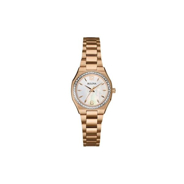 Dámské hodinky Bulova 98205 Rose Gold/Rose Gold