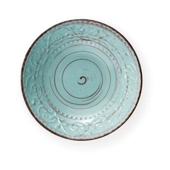 Farfurie din ceramică Brandani Serendipity, ⌀ 20 cm, turcoaz de la Brandani
