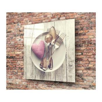 Tablou din sticlă 3D Art Magnia, 40 x 40 cm