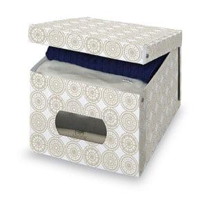 Cutie depozitare Domopak Ella, înălțime 31 cm, bej
