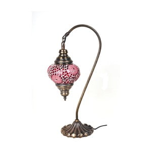 Skleněná lampa Fishing III, 13 cm