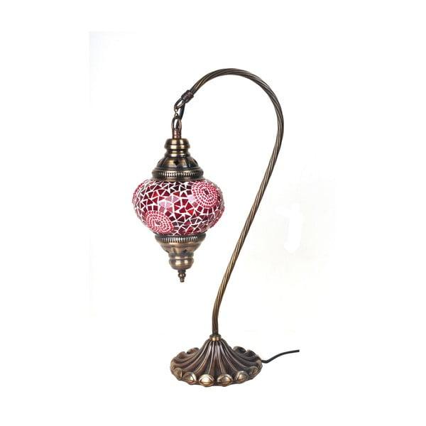 Skleněná ručně vyrobená lampa Fishing Babette, ⌀13 cm