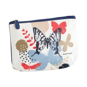 Taštička s tmavě modrými detaily Naf Naf Butterfly