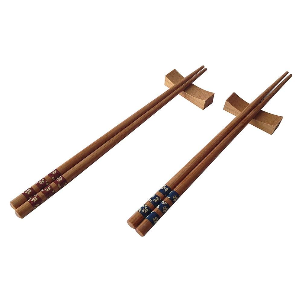 Sada 2 párů bambusových hůlek Focaccio