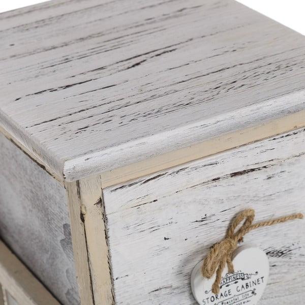 Komoda se šuplíky Coeurs, 63x26 cm