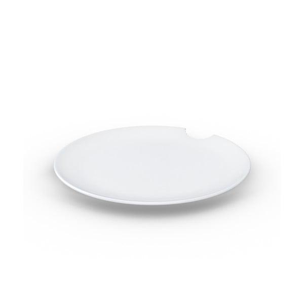Sada 2 bielych tanierov z porcelánu 58products, ø 28 cm