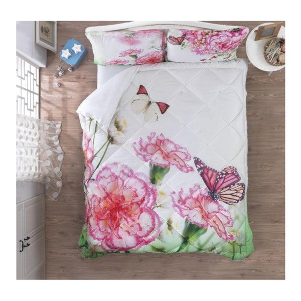 Ozdobný ložnicový set Floral, 200 x 265 cm