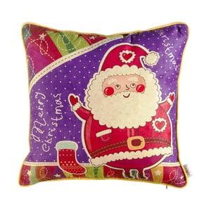 Vánoční povlak na polštář Apolena Comfort Santa, 43x43cm