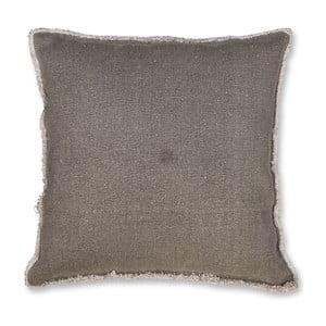 Polštář Siem 45x45 cm, tmavě šedý