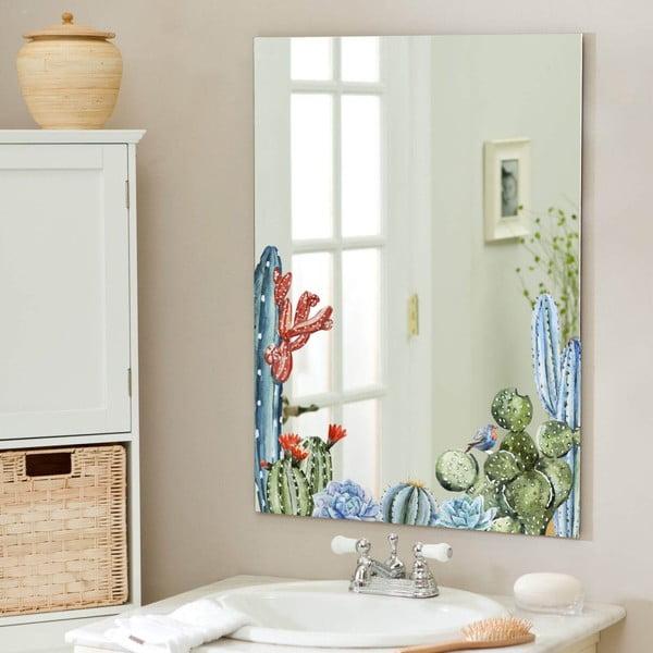 Nástěnné zrcadlo Surdic Espejo Decorado Cactus, 50 x 70 cm
