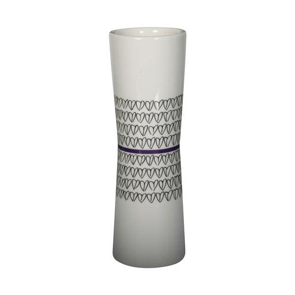 Váza Heart Vase Purple