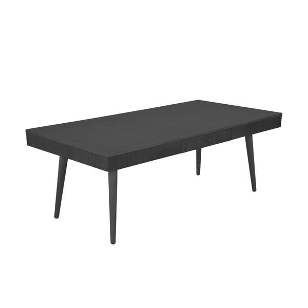 Konferenční stolek Niles 130x68 cm, černý