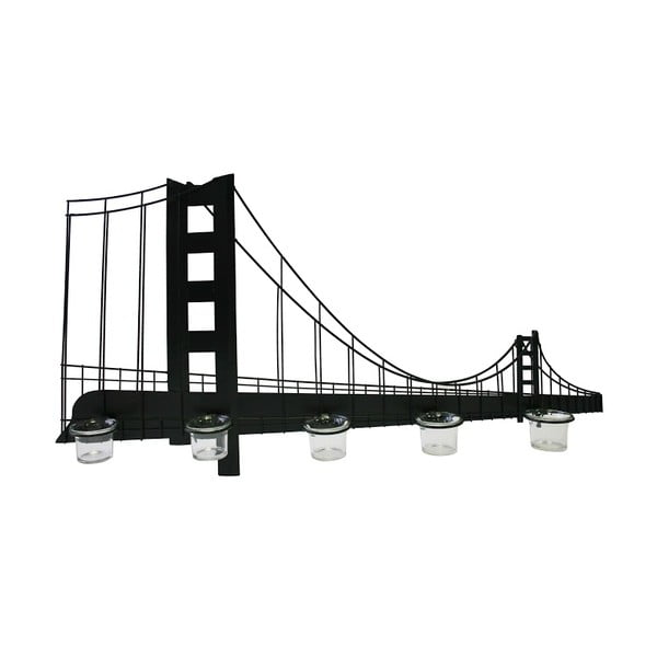 Závěsný stojan an svíčky Bridge