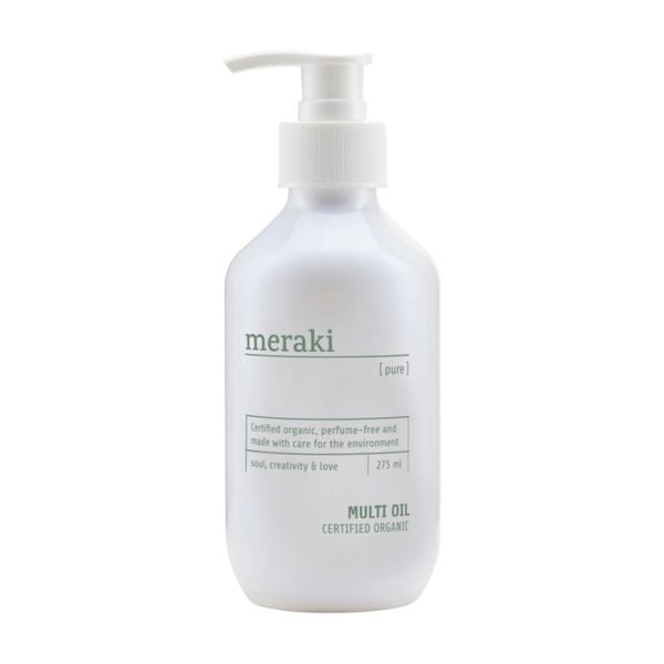 Pure illatanyag mentes bőrápoló olaj, 275 ml - Meraki