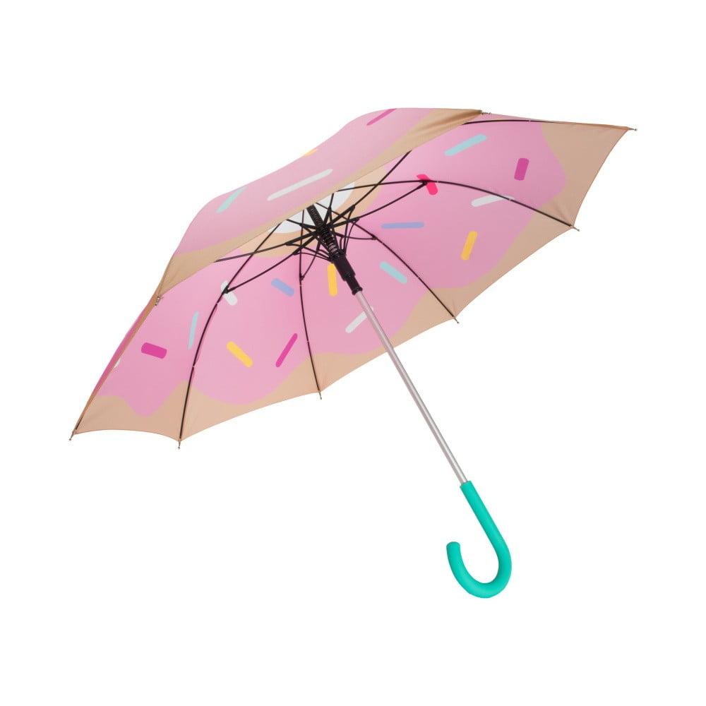 Růžový deštník Fisura Sandia Paraguas