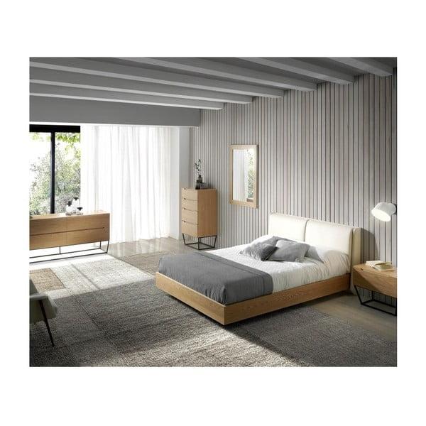 Dřevěný rám postele Ángel Cerdá Sleepy, 160 x 200 cm