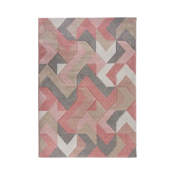 Covor Flair Rugs Aurora, 120 x 170 cm, roz