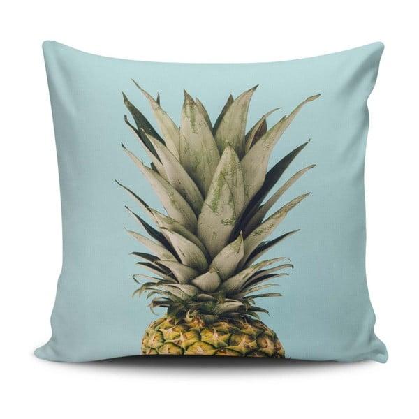 Polštář s příměsí bavlny Cushion Love Ananas, 45 x 45 cm