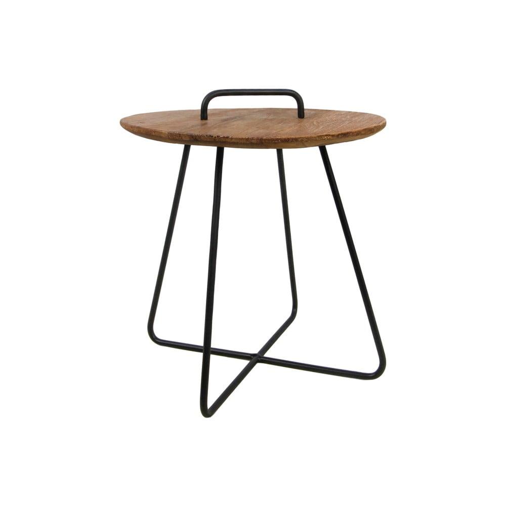 Příruční stolek z teakového dřeva HSM collection Madison