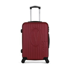 Vínový cestovní kufr na kolečkách VERTIGO Valise Grand Cadenas Integre Malo, 33 x 52 cm