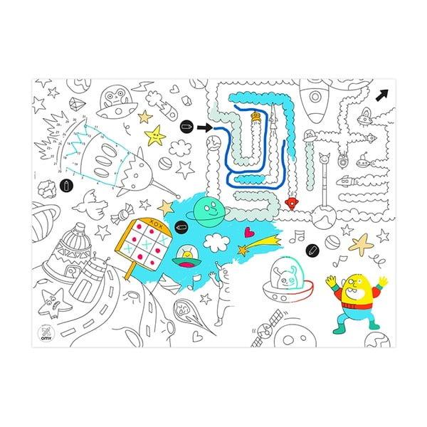 Prostírání omalovánky pro děti Games, 24 ks