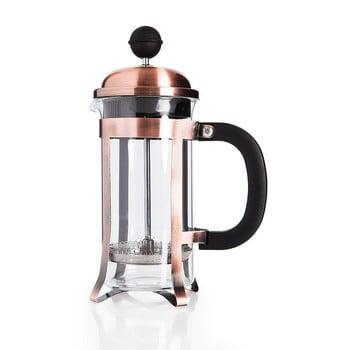 French Press pentru ceai și cafea Taşev Watson, 350 ml, arămiu închis