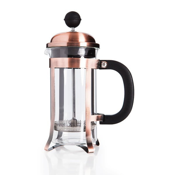 Ciemnomiedziany french press Bambum Taşev Watson, 350 ml