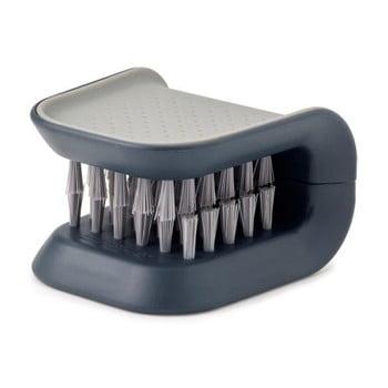 Perie pentru cuțite și tacâmuri Joseph Joseph BladeBrush, gri imagine
