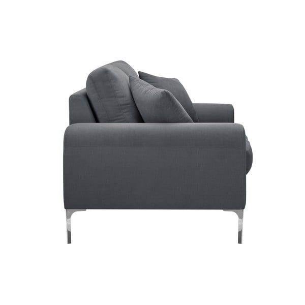 Canapea cu 3 locuri Corinne Cobson Dillinger, gri