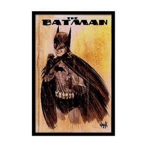 Plakát Brave Batman, 35x30 cm