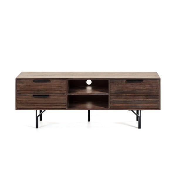 Atalia sötétbarna TV-állvány, 160 x 57 cm - La Forma