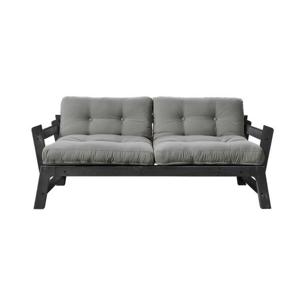 Sofa rozkładana Karup Design Step Black/Gris