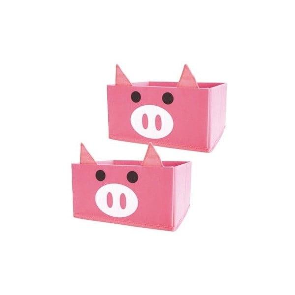 Sada 2 dětských organizérů JOCCA Pigs