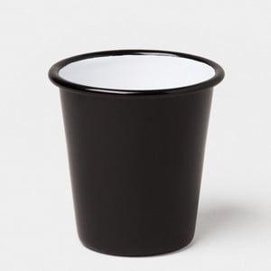 Pahar smălțuit Falcon Enamelware, 310 ml, negru