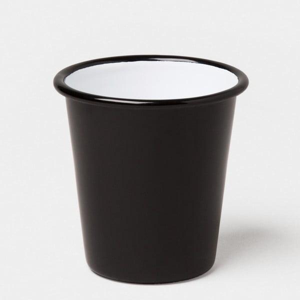 Pahar smălțuit Falcon Enamelware, 250 ml, negru