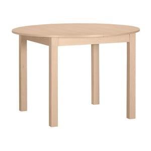 Kulatý dřevěný rozkládací jídelní stůl Artemob Haily