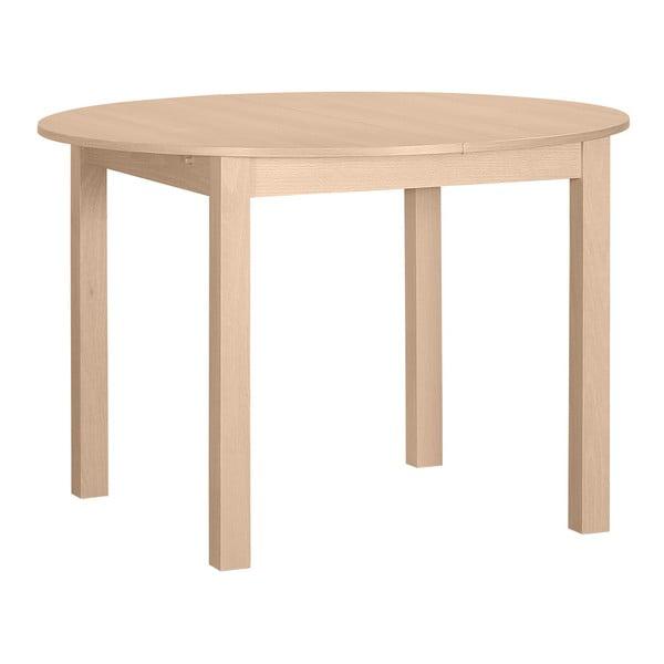 Okrúhly drevený rozkladací jedálenský stôl Artemob Haily