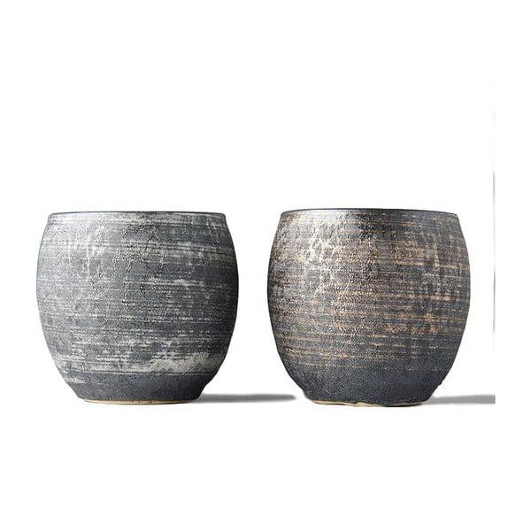 Zestaw 2 kubeczków ceramicznych MIJ Sho-chu
