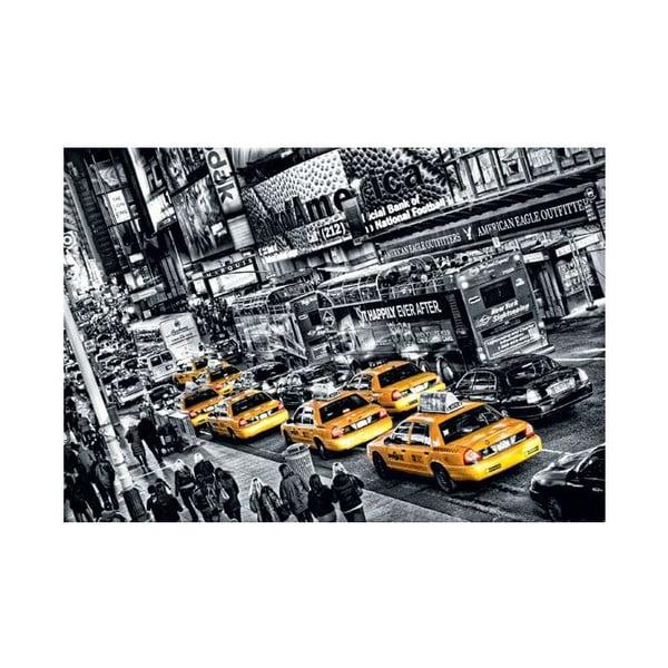 Jednodílná fototapeta Žluté taxi, 175 x 115 cm