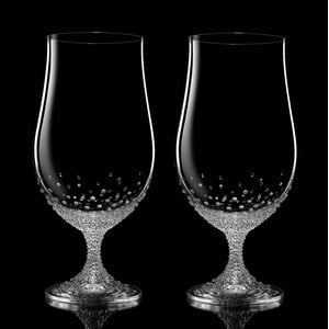 Sada 2 sklenic na pivo Pontus se Swarovski Elements v luxusním balení