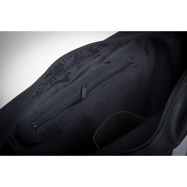 Pánská taška Solier MS1, bílé pruhy