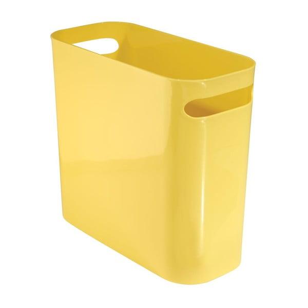 Úložný koš Una Yellow, 27x12,5 cm