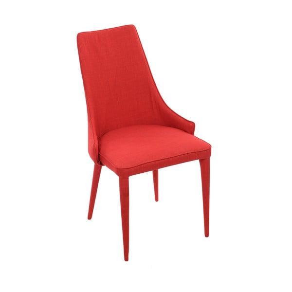 Červená jídelní židle InArt Red Universe