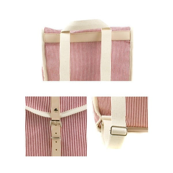 Batoh Red Stripe Heap