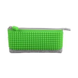 Pixelový penál, grey/green