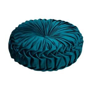 Tmavě modrý polštář HF Living Anima, ø40cm