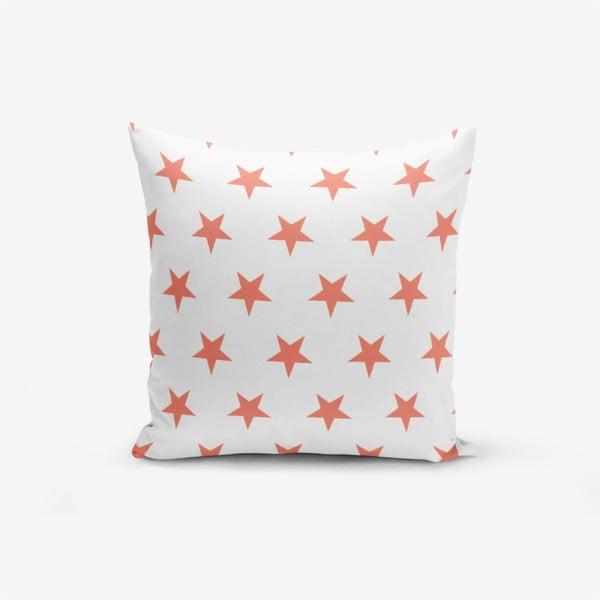 Față de pernă cu amestec din bumbac Minimalist Cushion Covers Pomegranate Star, 45 x 45 cm